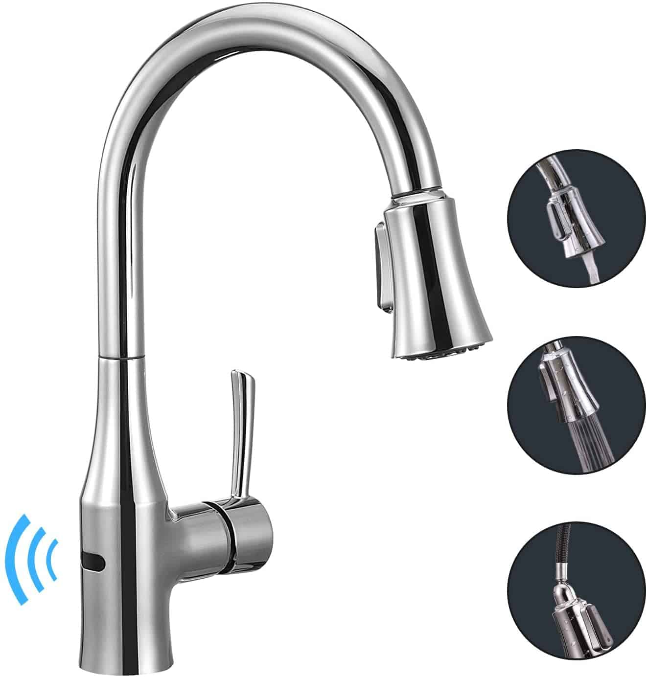 ANZA Touchless Kitchen Sink Faucet